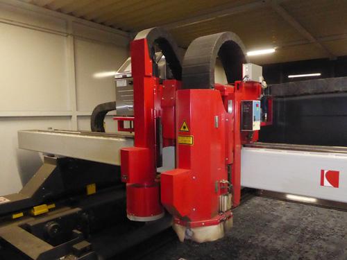 レーザー切断 - 柏陽鋼機
